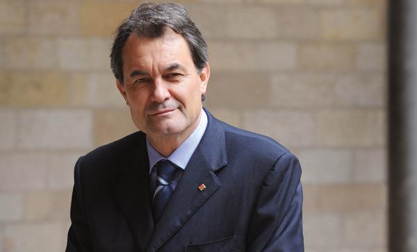 Artur Mas i Gavarró, president de la Generalitat de Catalunya
