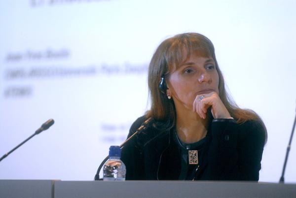 La regidora de Família, Infància, Usos del Temps i Discapacitats de l'Ajuntament de Barcelona, Irma Rognoni