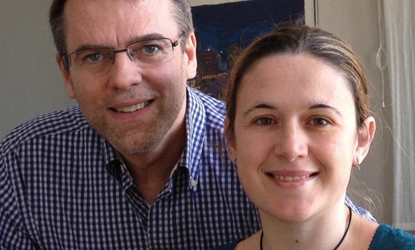 Oriol Amat i Pilar Lloret.