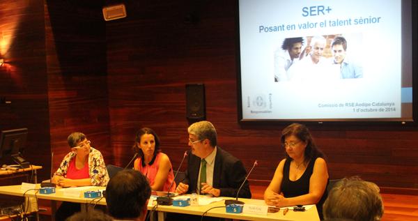 Acte de presentació del projecte SER+ el passat 1 d'octubre a Barcelona Activa.