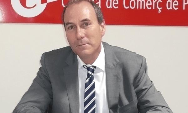 Xavier Ribera, president de la Cambra de Palamós