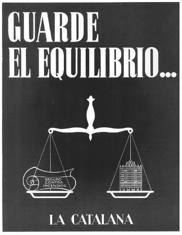 Cartel La Catalana