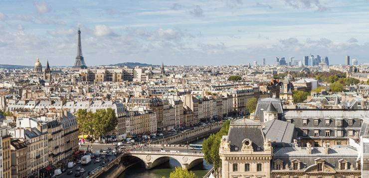París. Vista d'ocell
