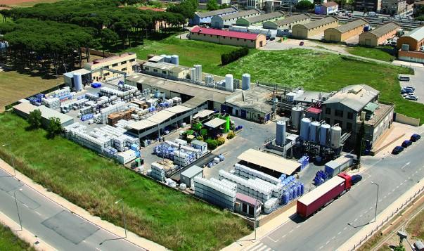Vista aèria de la planta de Derypol