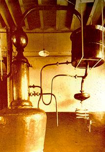 Facundo Bacardi i Massó va  començar a destil·lar rom en un alambí de 30 barrils per lot que li va permetre iniciar la producció comercial.  Foto: Bacardí
