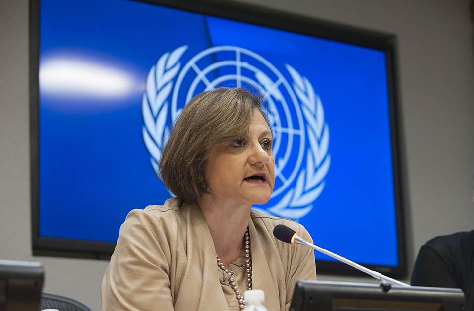 """Cristina Gallach reconeix que la comunicació a l'ONU és """"difícil"""" pel gran nombre de conflictes inesperats i situacions de crisi que sorgeixen, i """"complexa"""" per la pròpia composició de l'organització."""