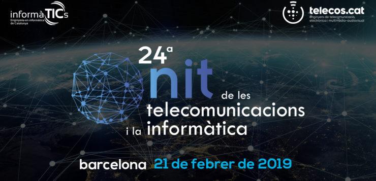"""<span style=""""color: #619A88; font-weight: bold; """">La Fundació Junta Constructora de la Sagrada Família i Carme Torras, </span>protagonistes de la 24a Nit de les Telecomunicacions i la Informàtica"""