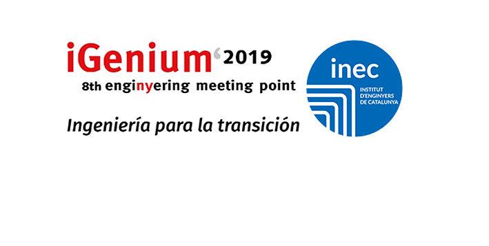 """<span style=""""color: #065ec2; font-weight: bold; """">iGenium'2019</span> analitza els desafiaments de l'enginyeria per a la transició en l'àmbit industrial, els serveis i les infraestructures"""